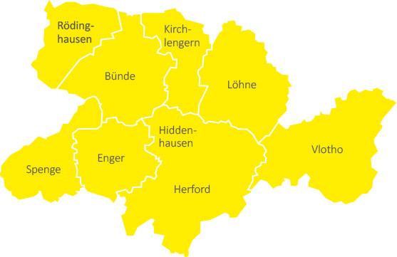 Kreisgebiet Herford