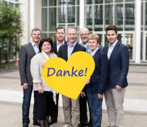 Das FDP-Kreistagsteam dankt allen Unterstützern und treuen Wählern!