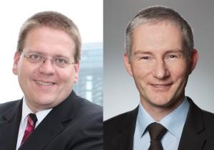 Landtagsabgeordneter Kai Abruszat und Kreisvorsitzender Stephen Paul