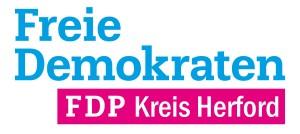 FDP Kreis Herford Logo Blau Magenta Weiss