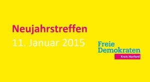 Erste Gelegenheit fürs persönliche Wiedersehen und Gespräche im Neuen Jahr: Das traditionelle Neujahrstreffen der Freien Demokraten im Herforder Kreishaus