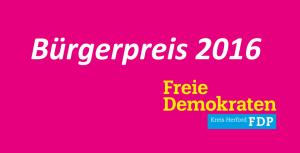 FDP Bürgerpreis
