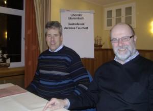 von links: Andreas Feuchert und Siegfried Mühlenweg