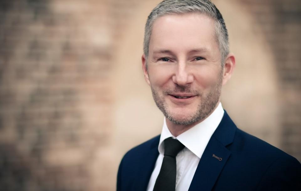 Stephen Paul, Kreisvorsitzender der Freien Demokraten und Fraktionsvorsitzender im Kreistag Herford.